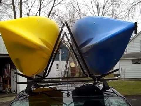 Homemade J Hook Kayak Carriers Kayaking Homemade Kyak