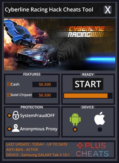 cyberline racing hack