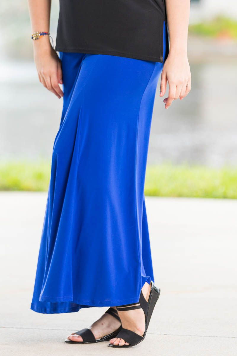 Swing Time Palazzo Pants - Cobalt in 2019 | Plus Size