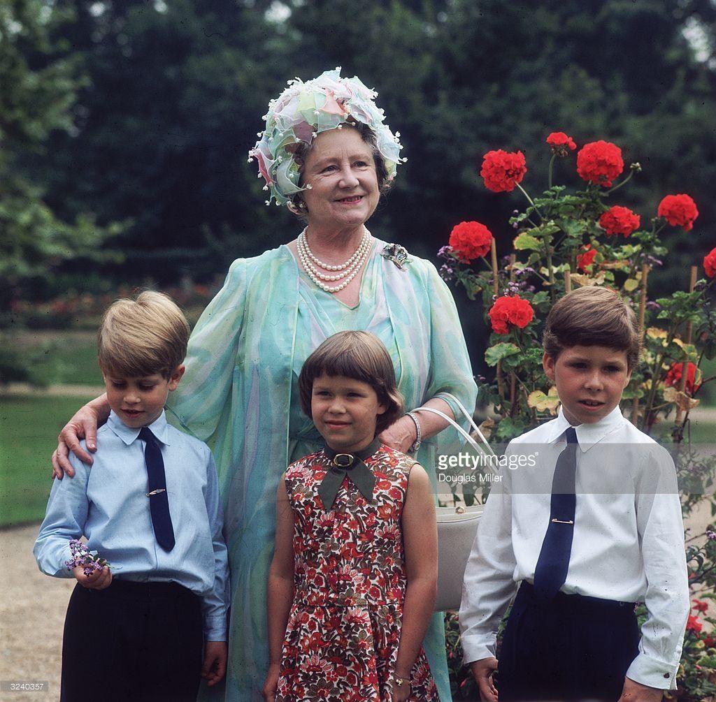 Prince Edward, Sarah Armstrong Jones and Viscount Linley