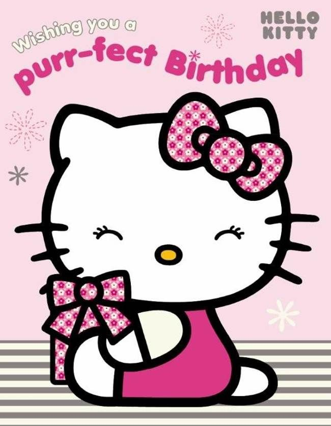 Ascii Hello Kitty Happy Birthday Free Reference Images Clipart
