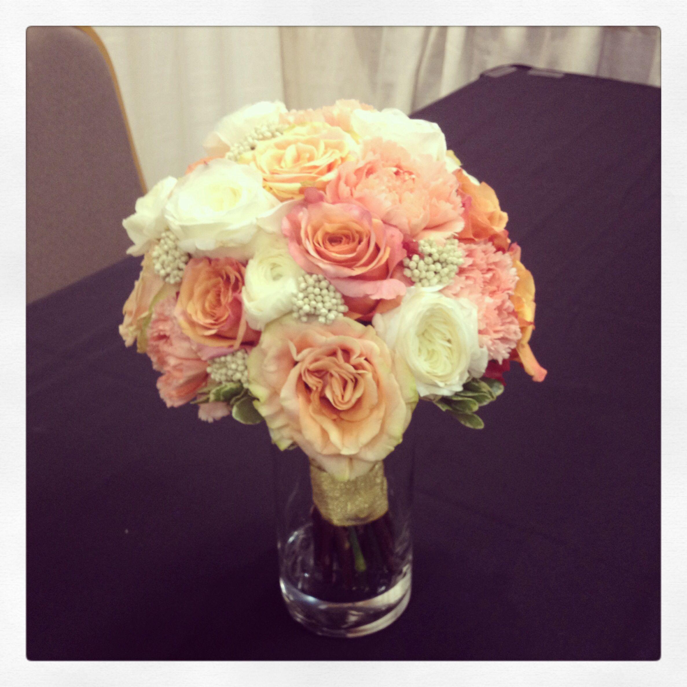 Wedding Flowers Pinterest: Best 25+ Coral Wedding Bouquets Ideas On Pinterest