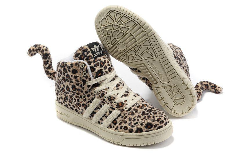 adidas jeremy scott leopard sneakers
