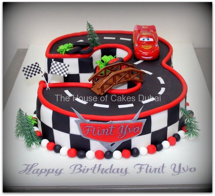 Admirable Disney Cars Mcqueen Cake 5 Verjaardagstaart Kindertaarten Personalised Birthday Cards Veneteletsinfo