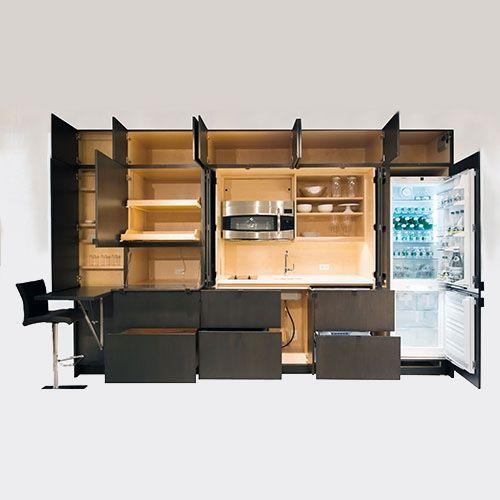 Встроенная мебель возвращается в современные интерьеры