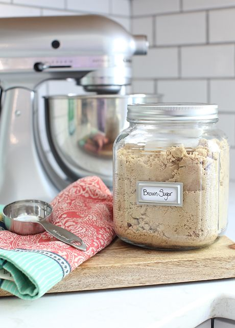 Put Marshmallows In Brown Sugar Metal Labels Found At Staples In