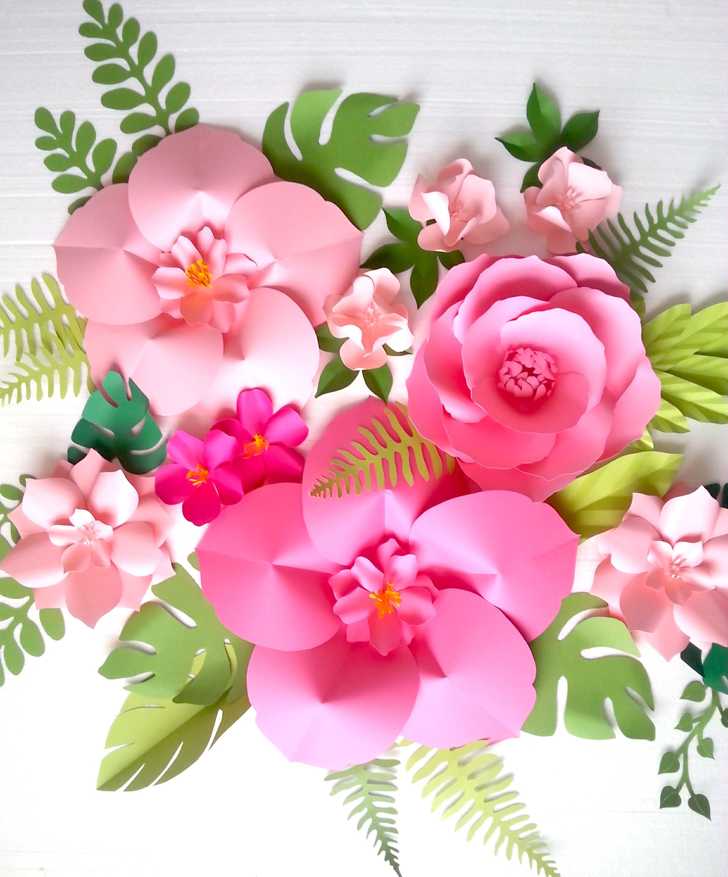 Extra Large Paper Flower Backdrop - Nursery - Room - Event Decor ...