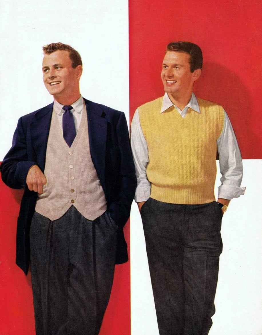 Fashion On The Couch 1940 S Fashion For Men: Myvintagevogue » Mens Fashion