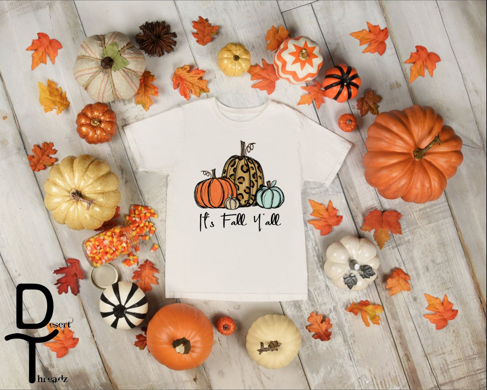 It's Fall y'all Pumpkin Kids Tee shirt ~ Fall Shirt ...