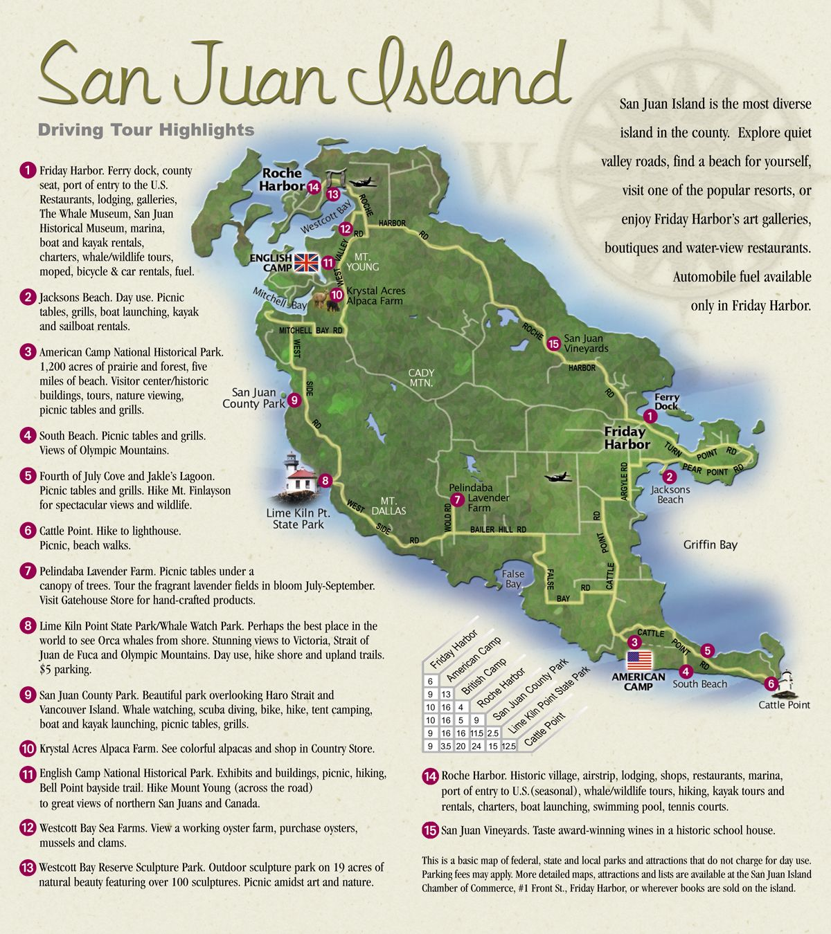 San Juan Island Map Stayed A Week On Orca It Is Area Artsy Mom Darlinda Dad And Bud I