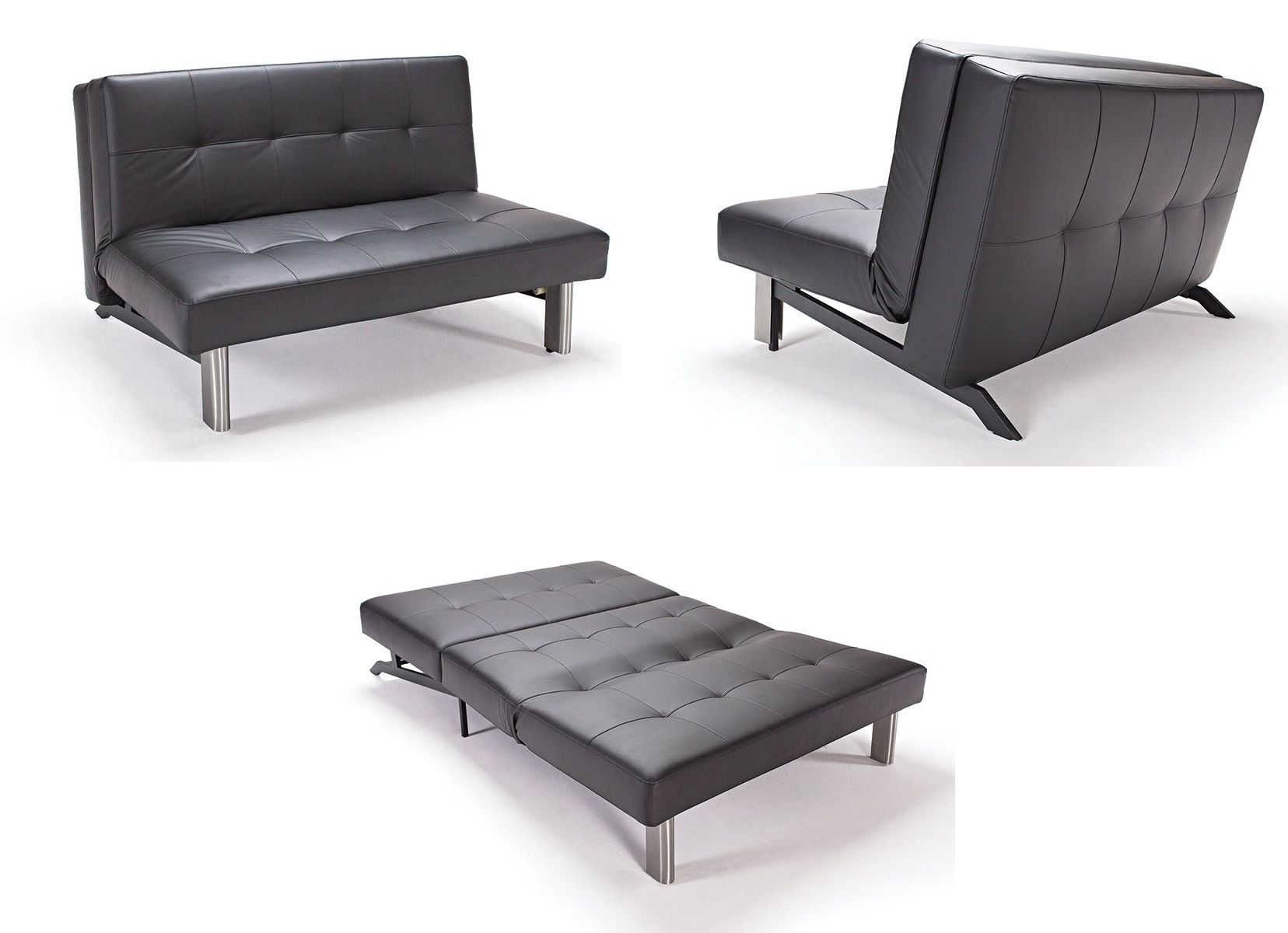 The modern Tjaze sofa from Innovation USA is an innovative, compact sofa  bed design #