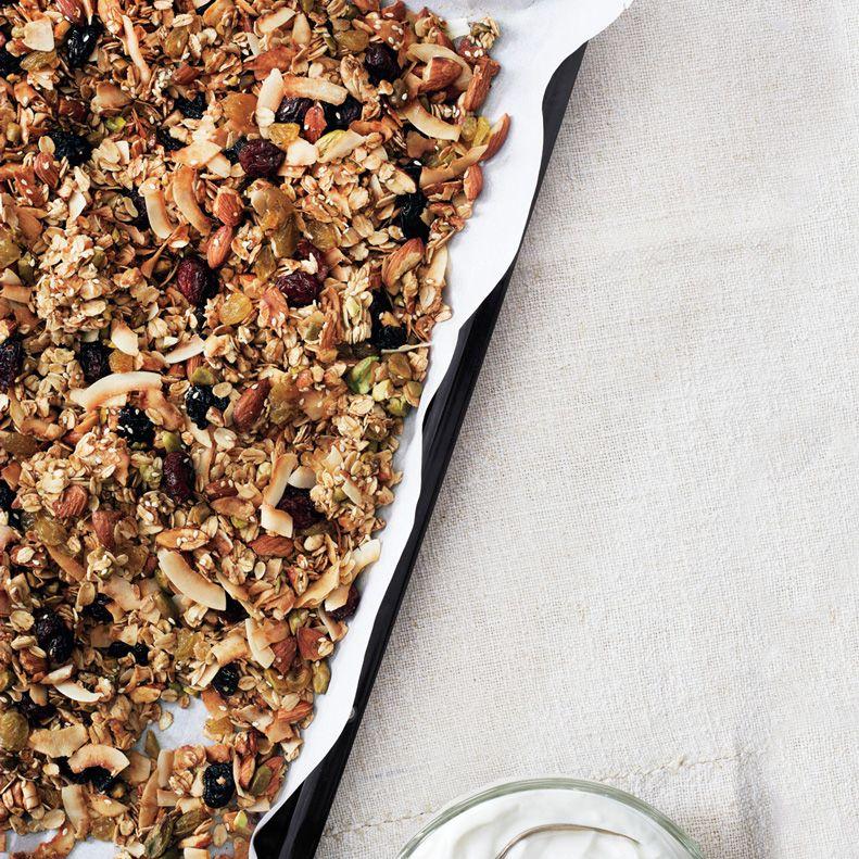 crunchy granola recipe egg white