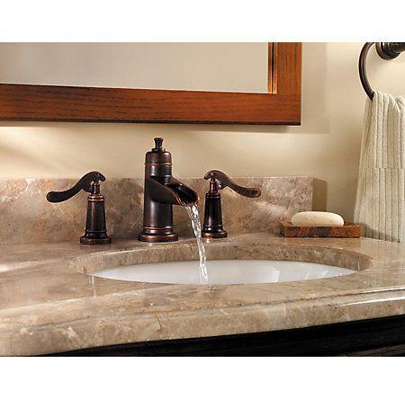 Rustic Bronze Ashfield Widespread Bath Faucet Gt49 Yp1u 3