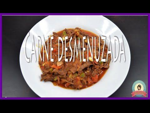 Como Hacer Carne Desmenuzada | Nicaragua en mi cocina - YouTube