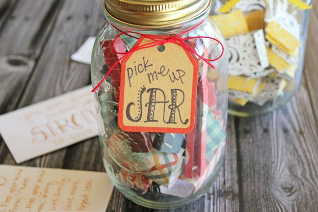 Pick Me Up Jars Printable List Of 50 Positive Quotes And Scriptures Mason Jar Christmas Gifts Mason Jar Gifts Diy Christmas Mason Jars
