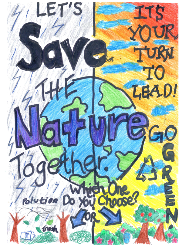 Planet Aid Earth Day Art Contest Winner 2015 3