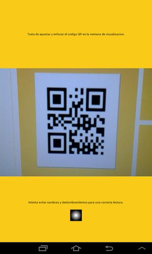Lector de códigos QR para la validación de dorsales en eventos organizados por Runin.es  http://Mobogenie.com