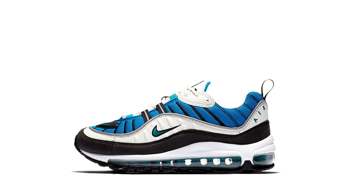 db3cfe2eba WMNS Air Max 98 Blue Nebula | Sneaker Releases | Nike, Nike shoes ...