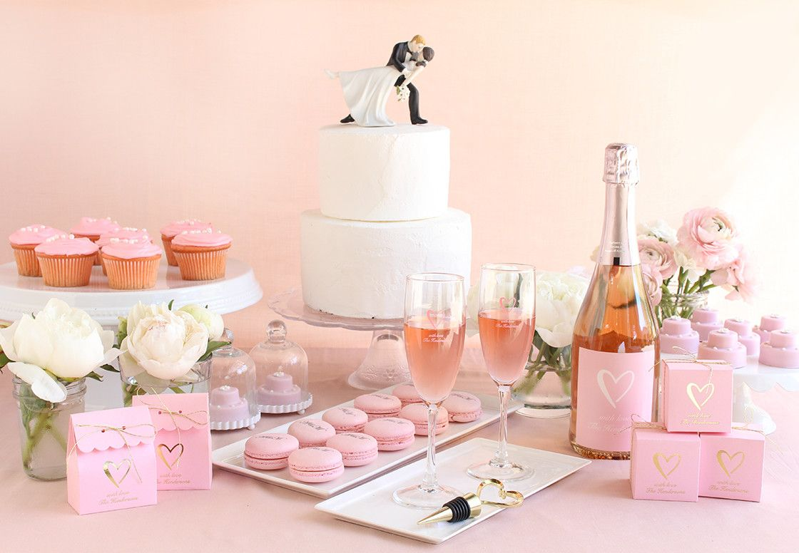 Fall for a classic white and pink color scheme! Get inspired with ...