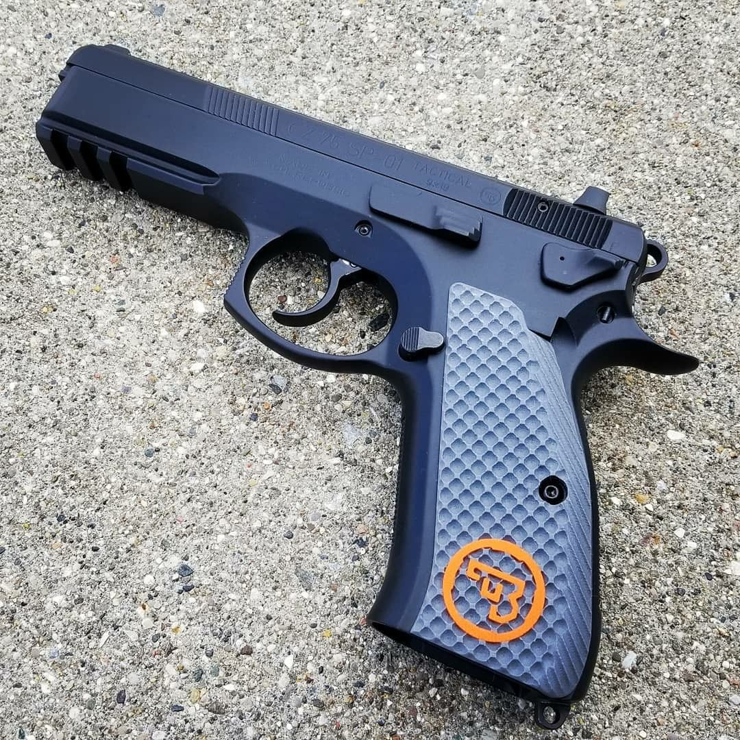 Lok grips CZ Sp01 | Pistole | Guns, Hand guns, Weapons guns