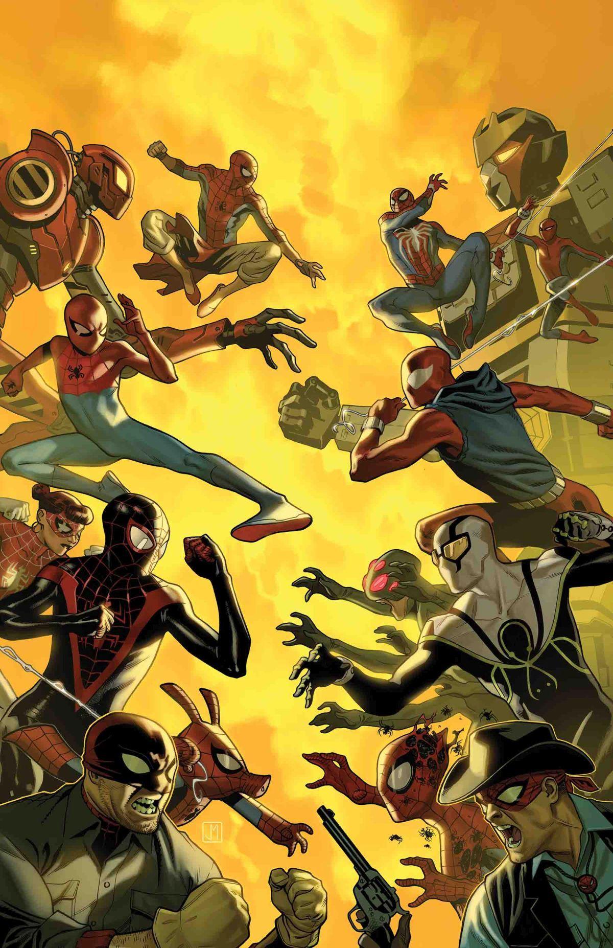 SPIDERGEDDON 3 (OF 5) Örümcek adam, Örümcek, Çizgi roman