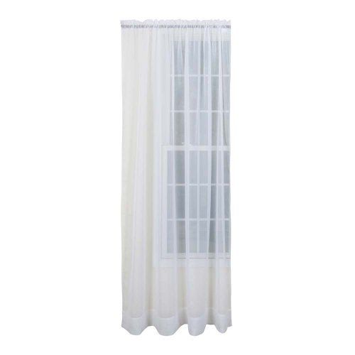 Stylemaster Elegance 60 By 120 Inch Sheer Voile Panel White By Stylemaster Http Www Amazon Com Dp B0065anb Voile Panels White Window Treatments Stylemaster