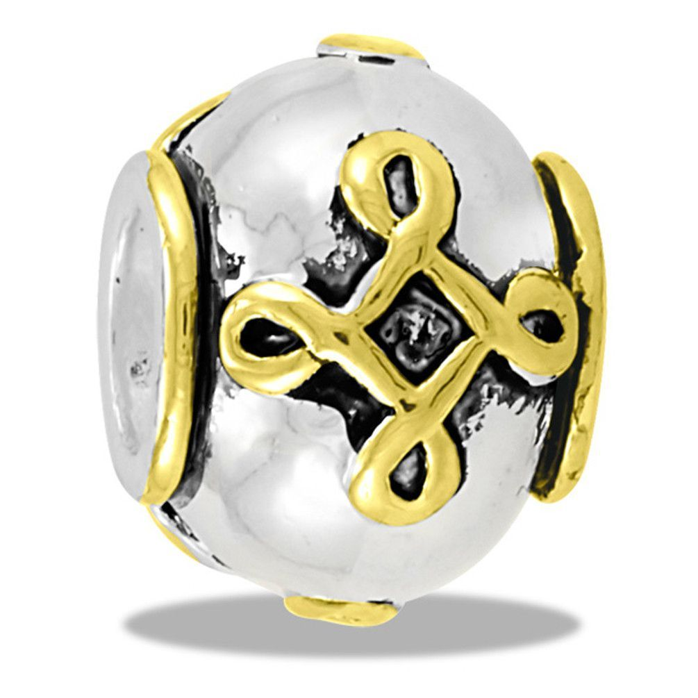 DaVinci Beads Two Tone Celtic Jewelry