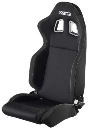 Sparco R100 Black/Black Seat | Products | Racing seats, Aftermarket