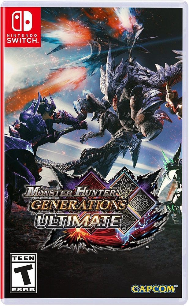 Monster Hunter Generations Ultimate Nintendo Switch 2018