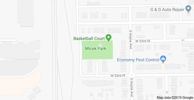 Map Of Micek Park Chicago Il 60609 Map Auto Repair Repair
