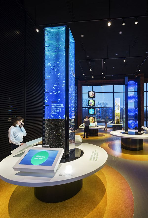 Interactive Exhibition Stand : Visionate meydan llc cityscape making of exhibition