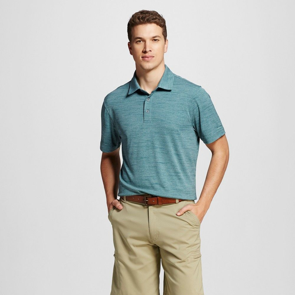 f846de339 Golf Polo Shirt Taffy Green Space Dye XL - C9 Champion | Products ...