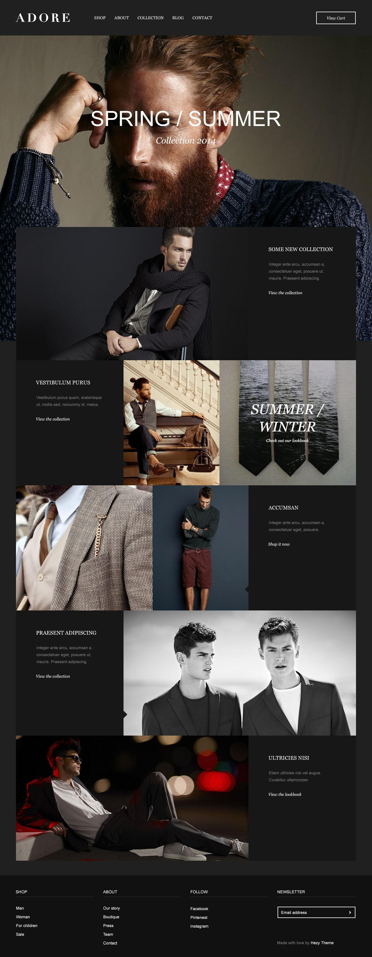 #webdesign #wordpress #theme