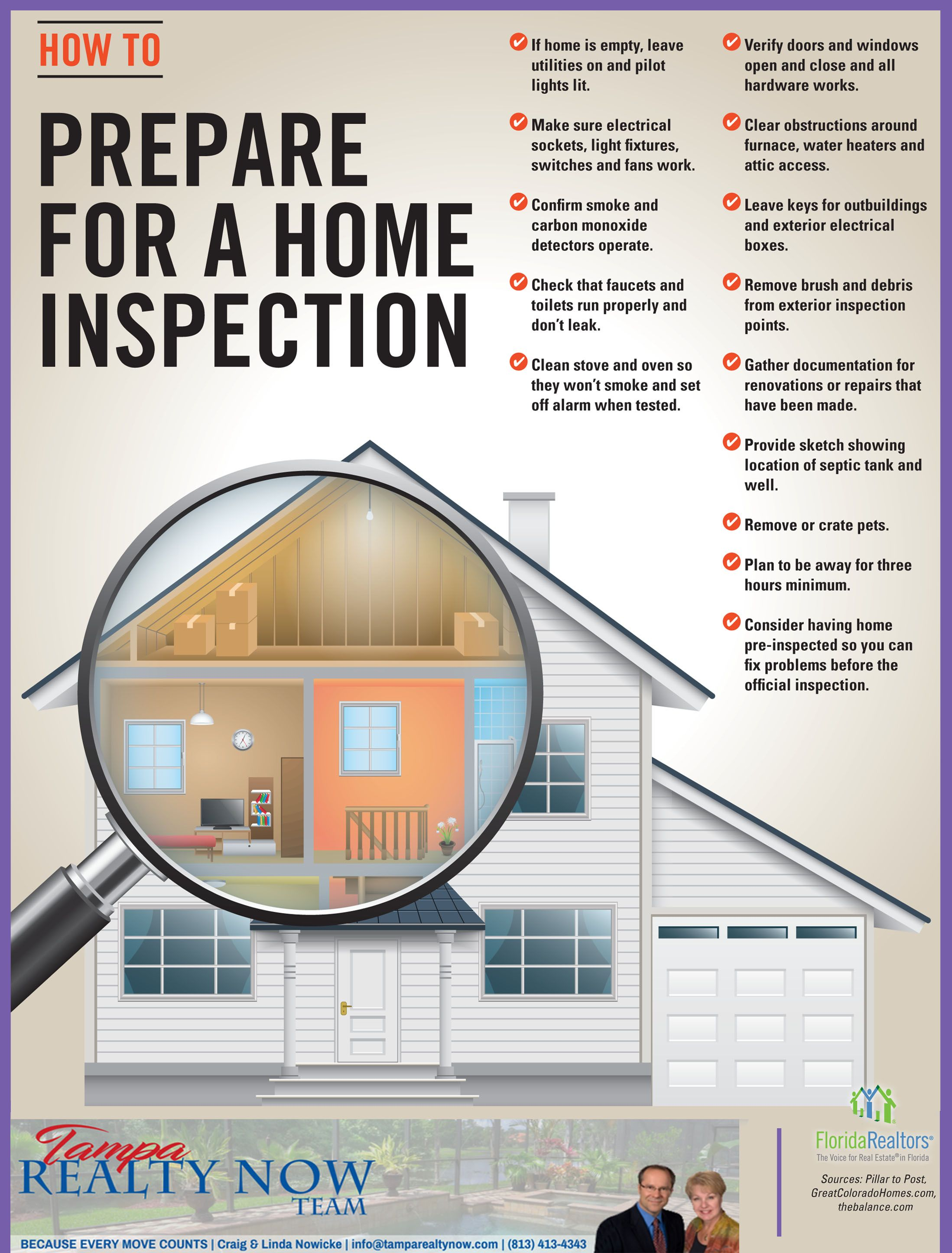 How To Prepare For A Home Inspection Home Inspection Home