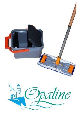 Seau de lavage écologique pressoir essoreuse microfibre pour le - nettoyage a sec maison