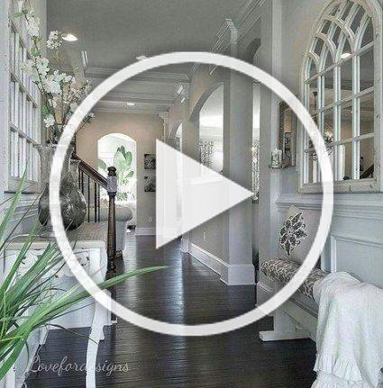 Best living room decor dark wood hallways Ideas