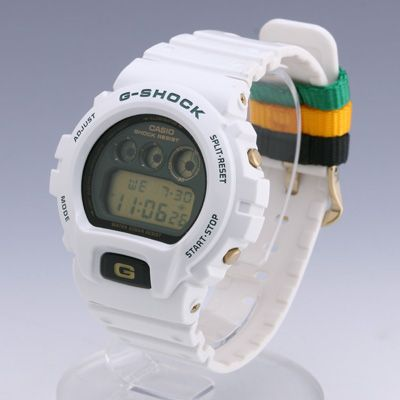 Casio G-Shock 6900. If it's good enough for the astronauts, then it's good enough for me. Although I doubt they brought the Rasta version up to space with them...