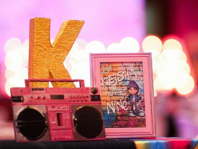 Keisha S Hip Hop Themed Party 9th Birthday Hip Hop Themed Party