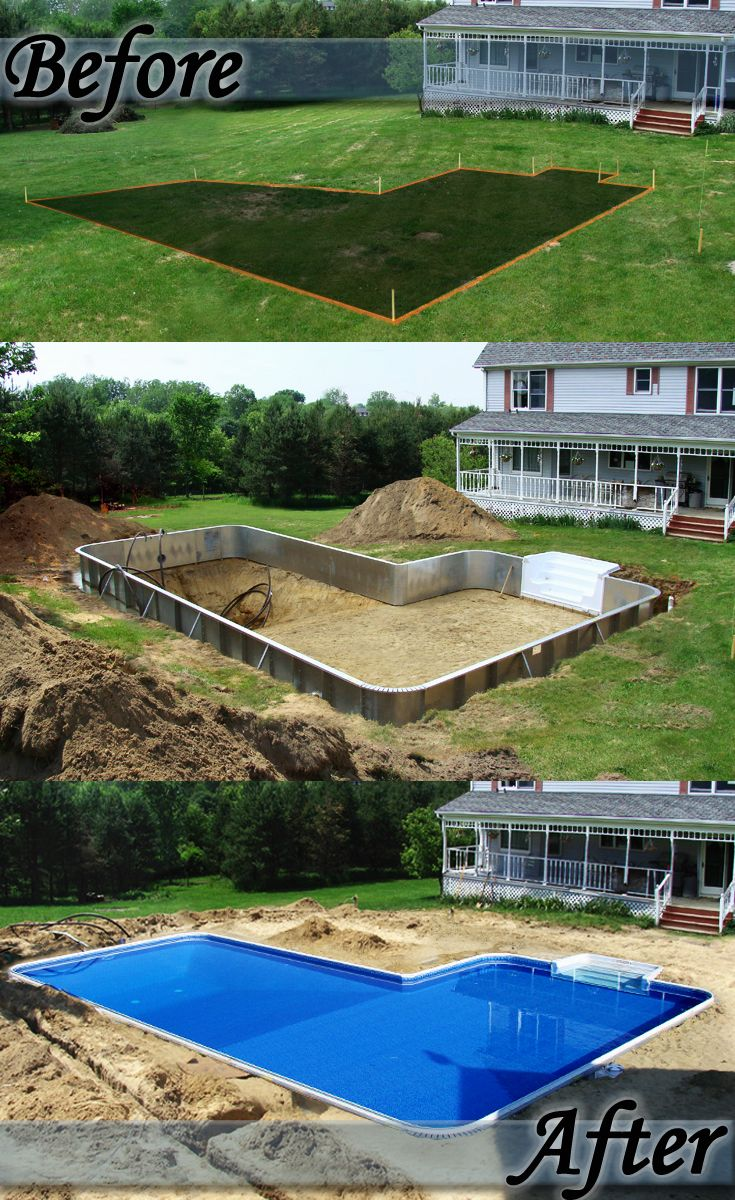 A Backyard Transformation By Only Alpha Pool Products/Trivector  Manufacturing Click To See More!