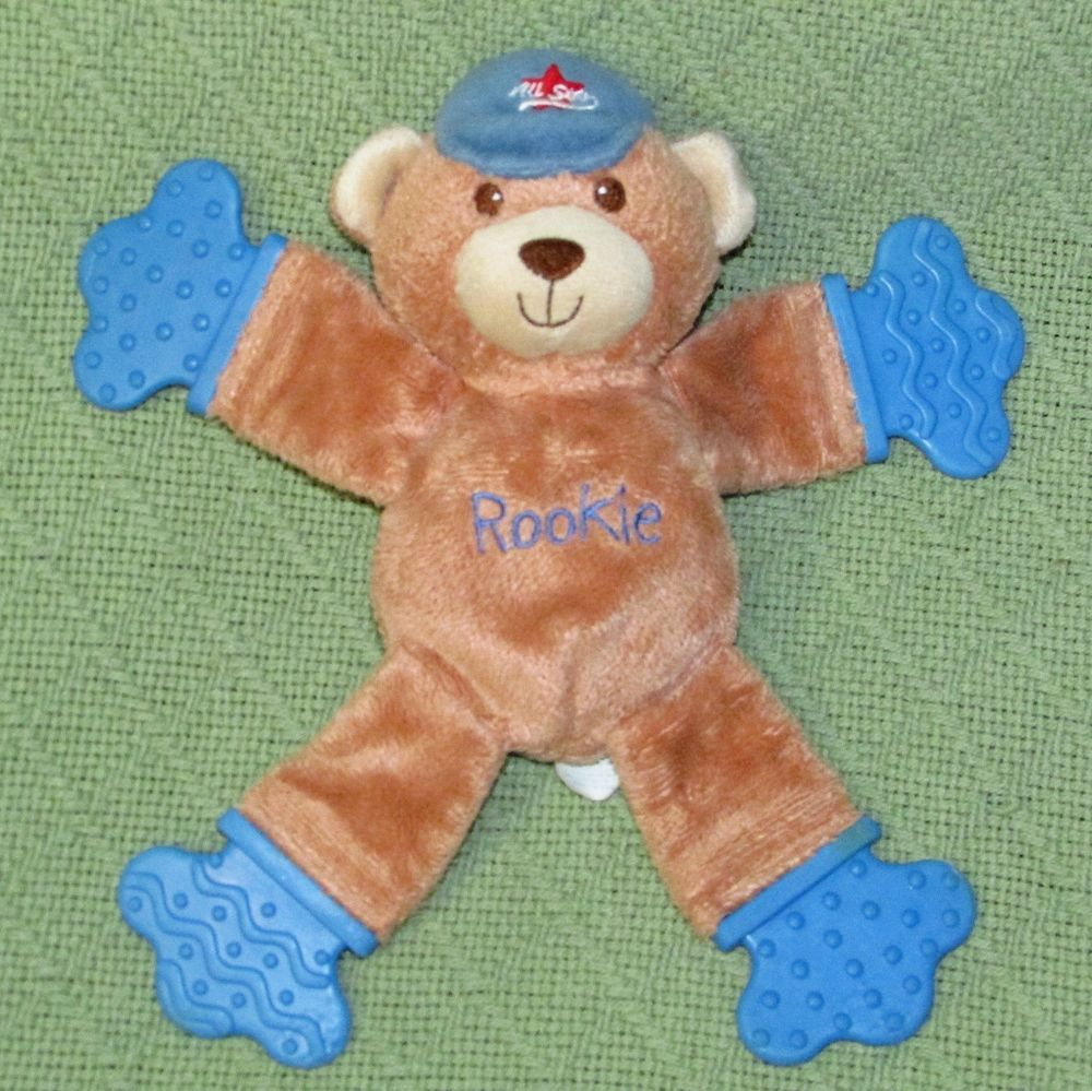 Carter/'s SECURITY BLANKET Blue Bear Baseball ROOKIE