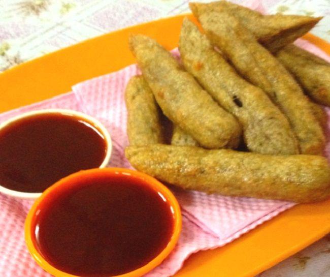 Resepi Keropok Lekor Terengganu Resepi Bonda Malaysian Food Desserts Food Real Food Recipes