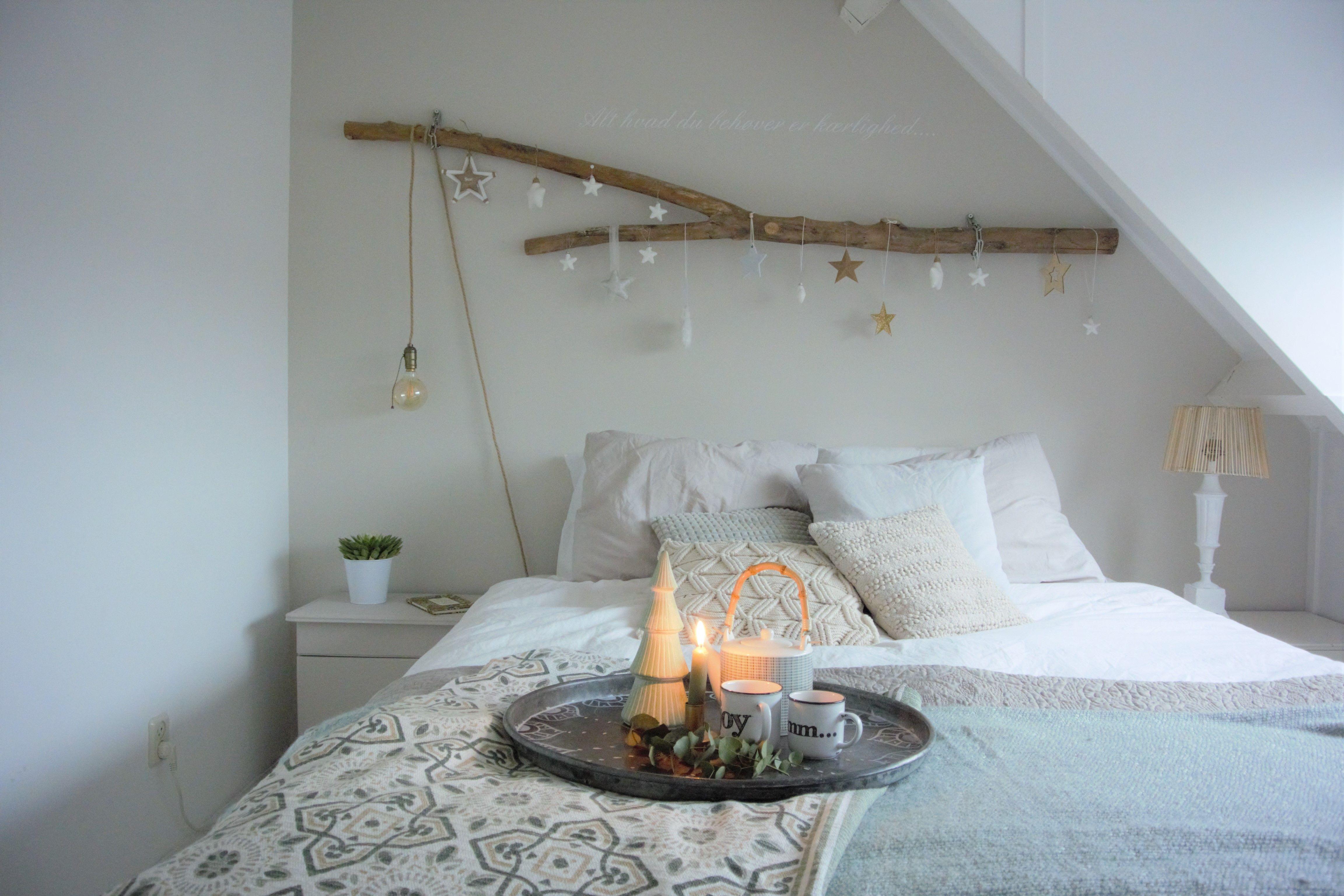 Kerstdecoratie Slaapkamer Noord Zoet Interieuradvies Styling Blog Bed Decoratie Thuisdecoratie Kerstdecoratie