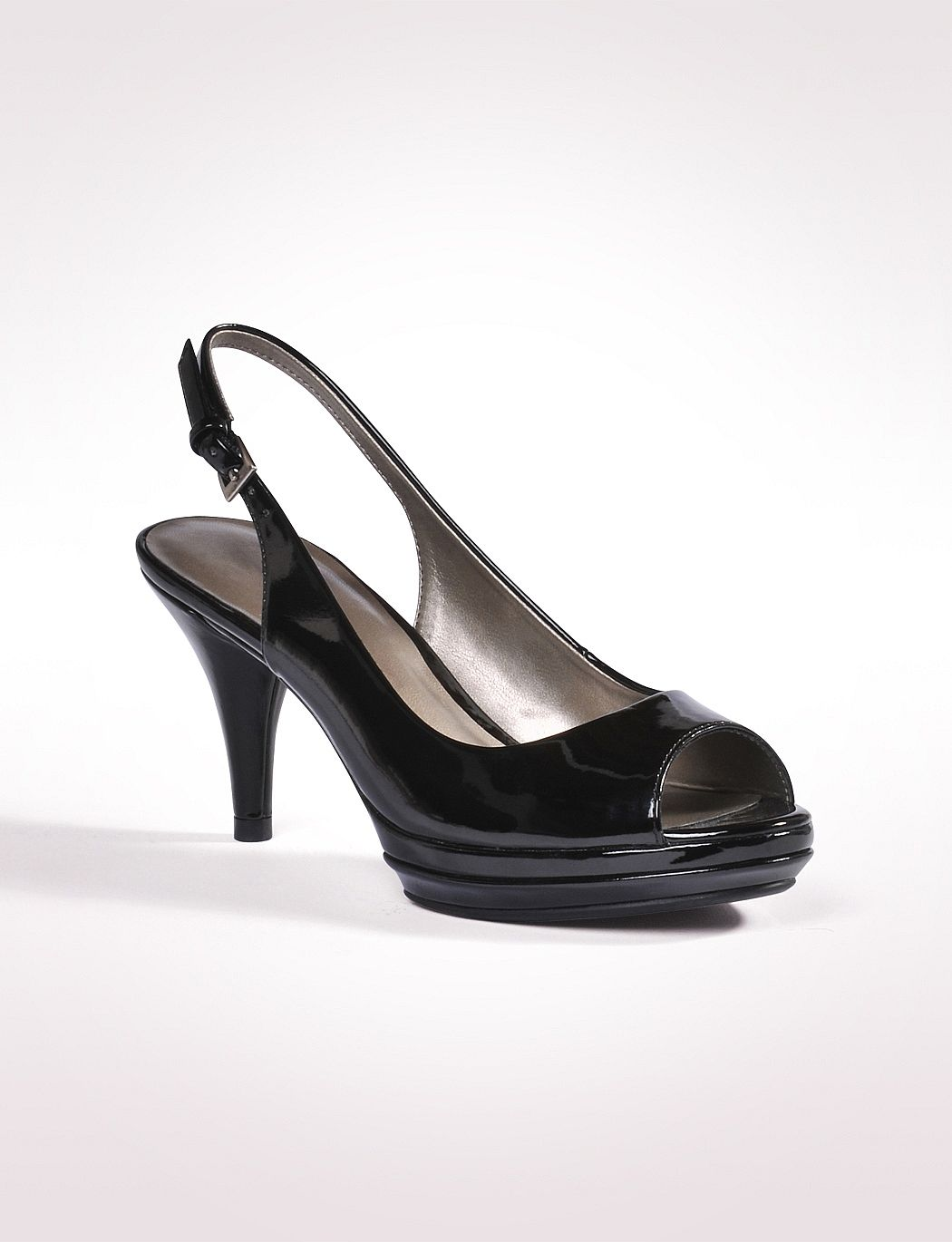 JONES STUDIO Patent Slingback Heel