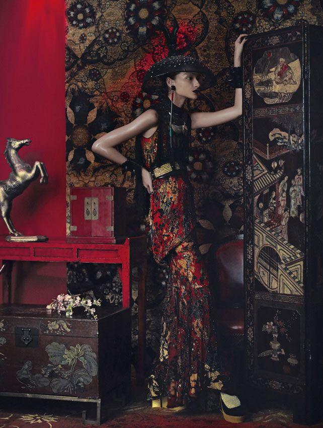 Revista Elle / Edição de moda Flavia Pommianosky e Davi Ramos / Produção de moda Well Santos / modelo Bruna Tenório