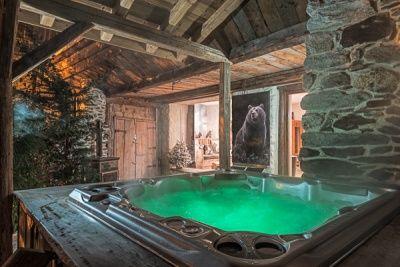 chambre d'hotes avec jacuzzi bergerie du miravidi bourg st maurice