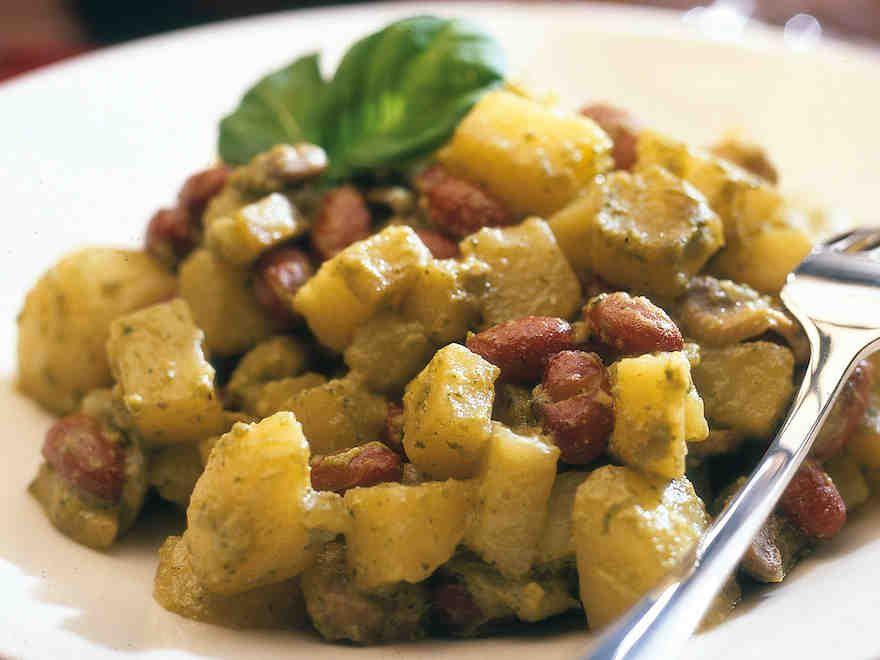 Pesto-perunapata - Reseptit