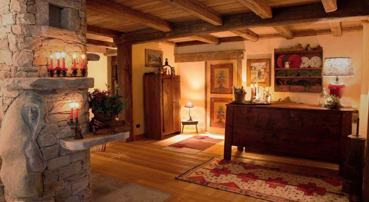 Chalet di lusso in legno cerca con google casa dolce for Arredamento baita montagna