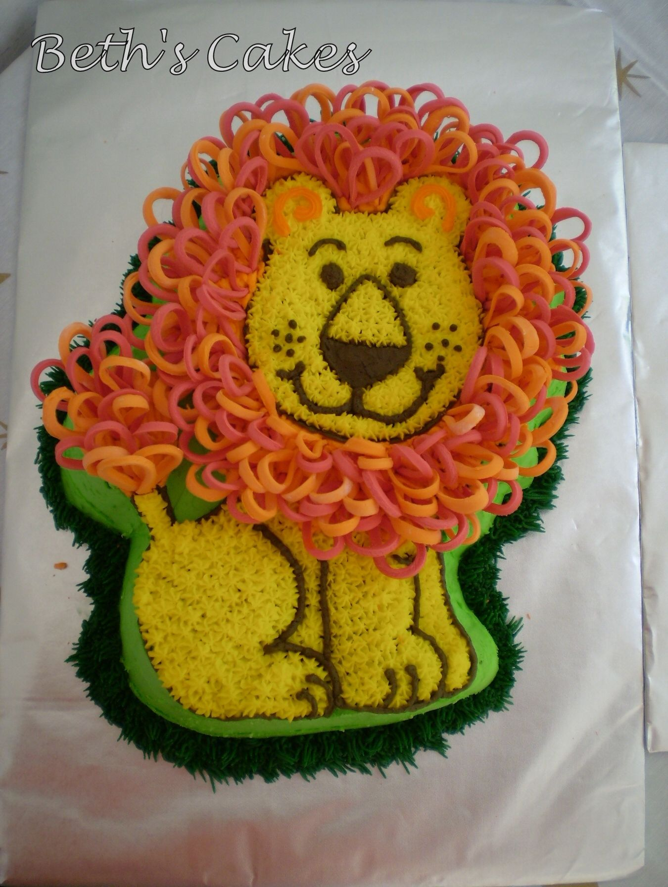 Lion King Wilton Cake Ideas And Designs