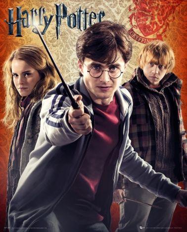 Harry Potter 7 Insygnia Smierci Trio Plakat Filmowy Sklep Nice Wall Harry Potter Poster Ron And Harry Harry Potter