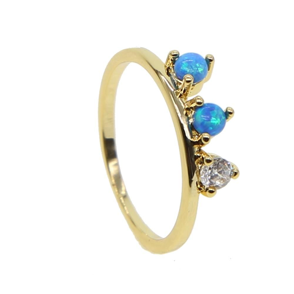 Glitz Glam Blue Diamontrigue Jewelry: Gabriella Ring – Bohèmee (With Images)